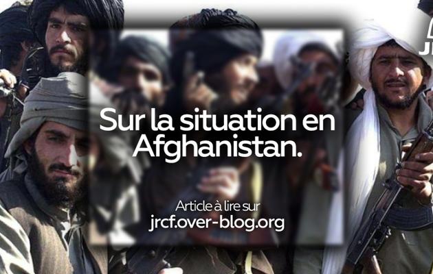 Communiqué JRCF sur la situation récente en Afghanistan