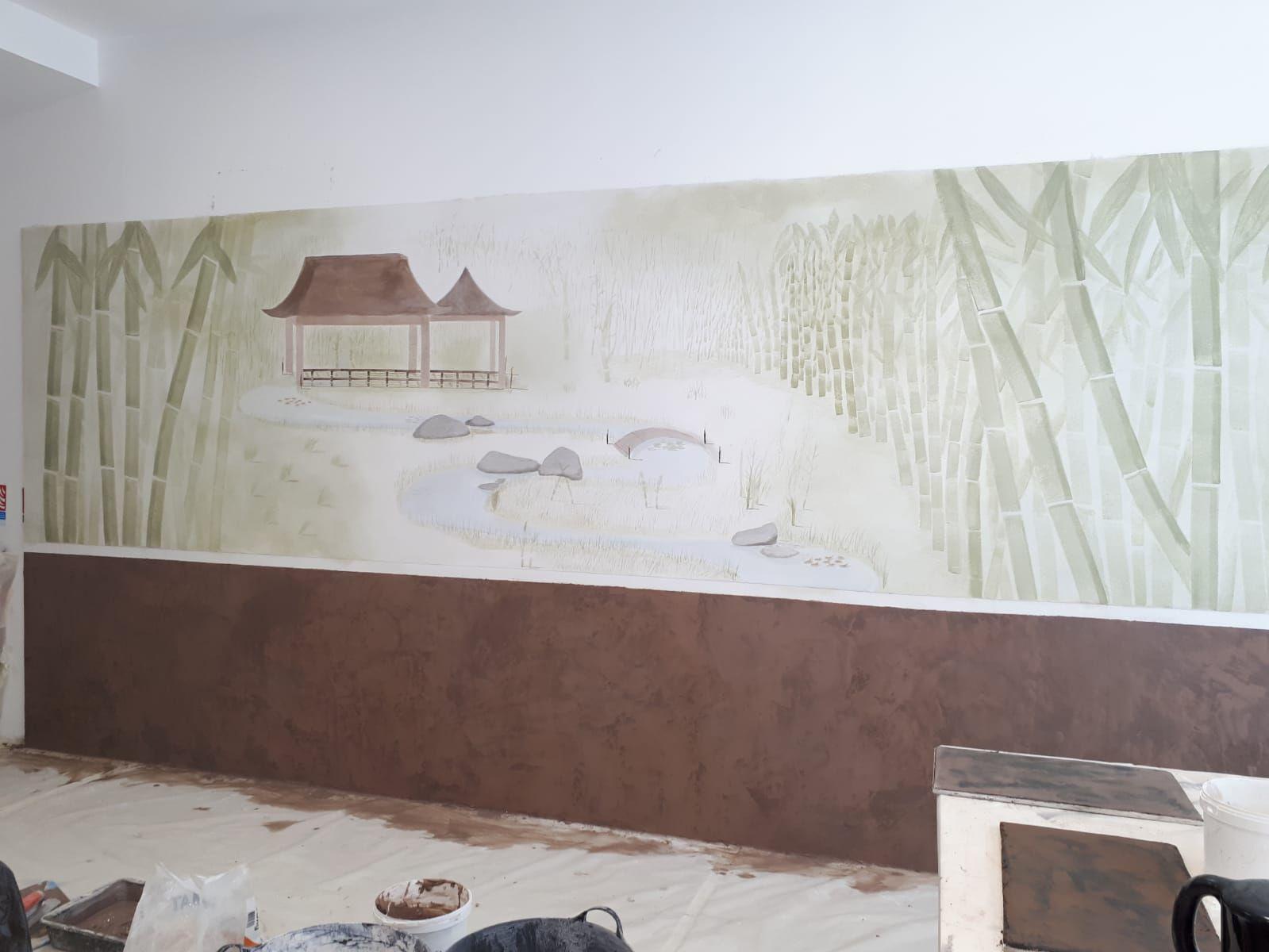 Créartaly, décor peint
