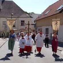 Les processions d'antan
