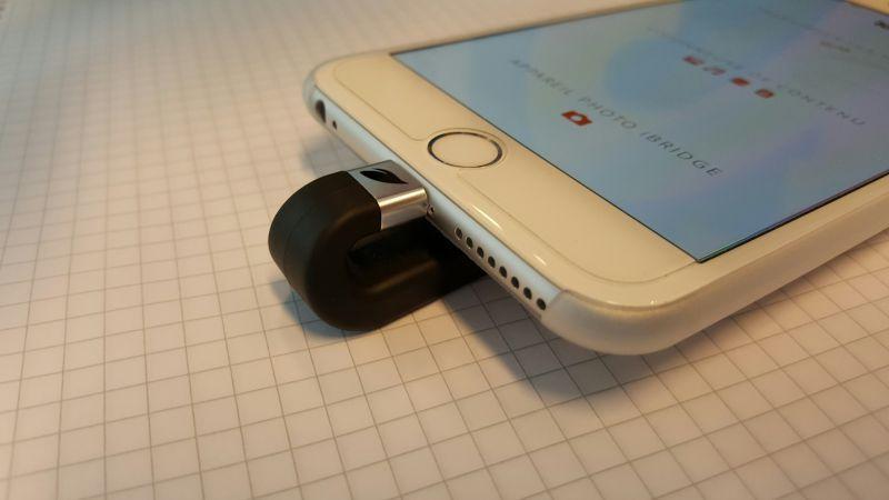 iBridge de Leef : il offre davantage de mémoire à votre iPhone