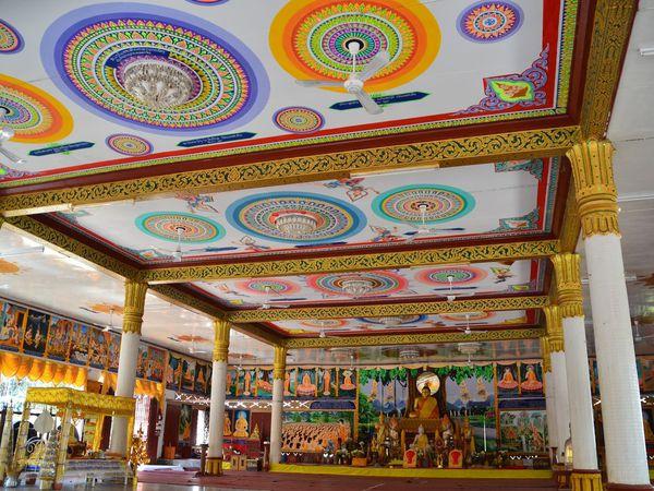 Un temple à côté du Salachampa hôtel