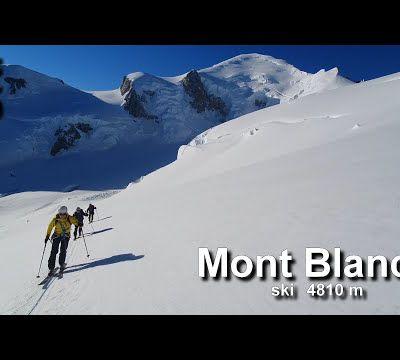 Vidéo : Mont Blanc à ski - 4810 m