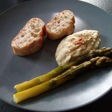 Mousseline d'asperges (companion cookéo ou pas)
