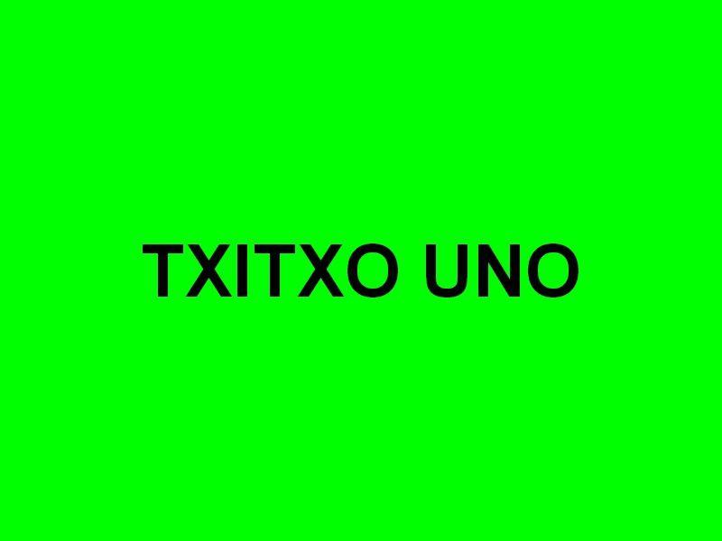 TXITXO UNO , dans le port de San Sébastien , Espagne