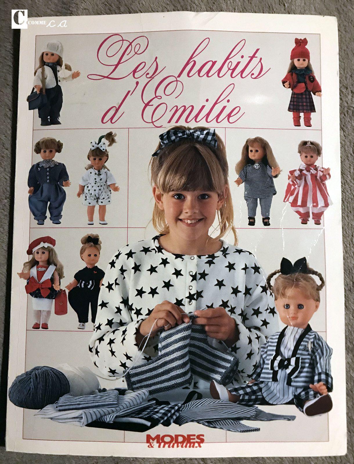 Les habits d'Emilie • Editions Modes & Travaux • 1987