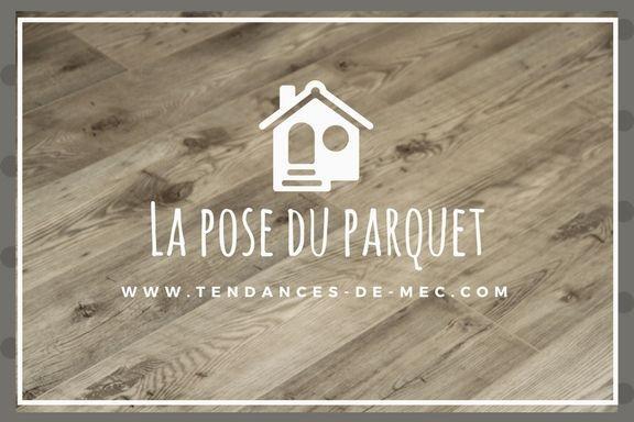 TRAVAUX DU SALON ÉTAPE 2, LE PARQUET