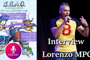 Interview - Lorenzo MPC (rap conscient) - Euro Solidary Art Online 2020