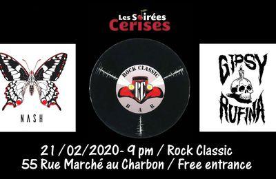 🎵 NASH (F) + Gipsy Rufina @ Rock Classic - 21/02/20120 - 21h00 - Entrée gratuite / Free entrance