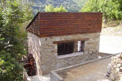 """""""El moli del Xic"""", le moulin foulon d'Ayguatébia-Talau"""