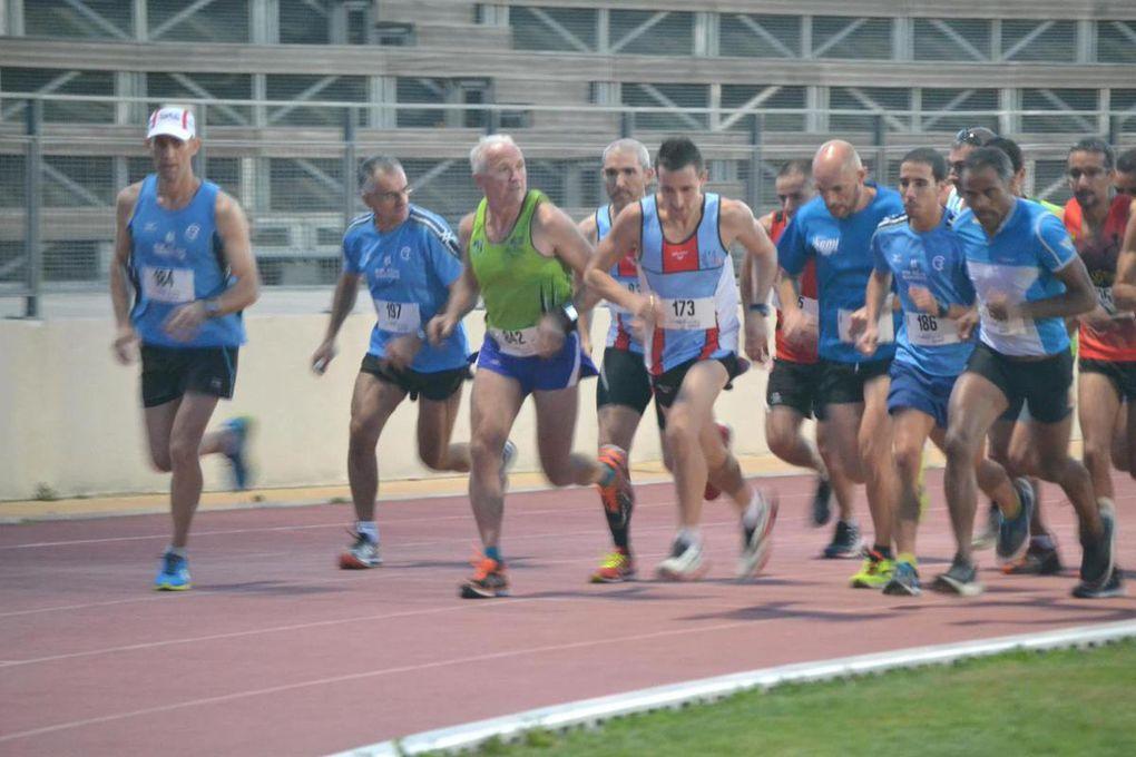 Stade Roger Couderc - Les séries 1 et 2 du 3000 m