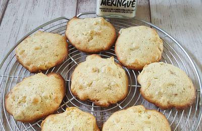 Cookies citron meringué et cubes de citron confit
