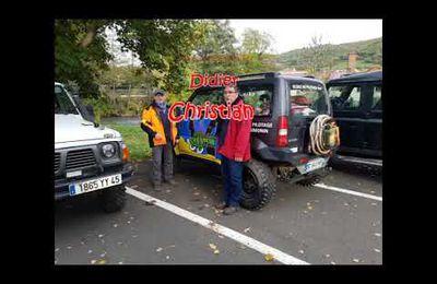 Bouclier arverne randonnée off road 4x4 à Massiac dans le Cantal.