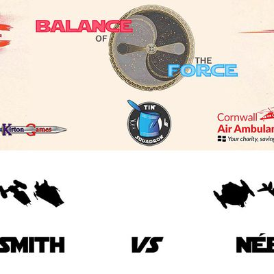 Balance of the Force, round 6: Lian Smith (Rebel Alliance) vs Nébal (Scum and Villainy) (battle report in English)