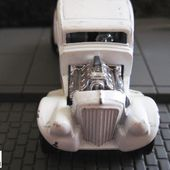 33 WILLYS STREET ROD FORD 1933 HOT ROD BLANC MATCHBOX 1/50 - car-collector.net