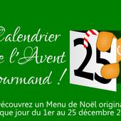 Calendrier de l'Avent Gourmand 2014