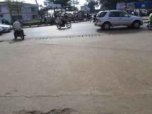circulation fluide à Ndokoti