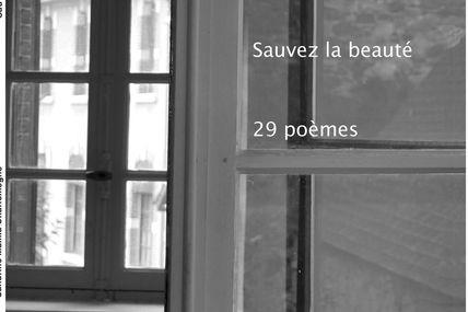Sauver la beauté. 29 poèmes de Sandrine Malika Charlemagne
