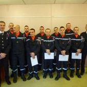 Six nouvelles recrues chez les pompiers