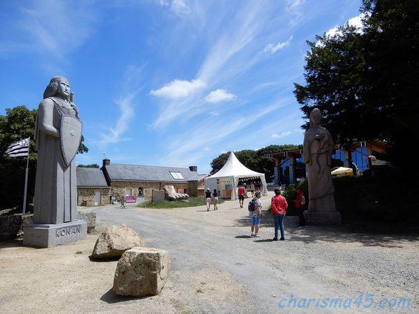 La vallée des saints, Bretagne en camping-car