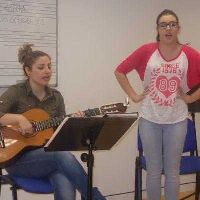 La escuela de canto de jota.