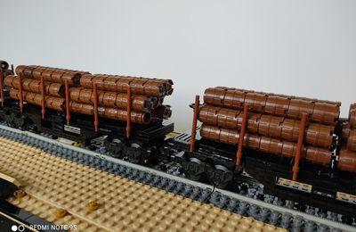 Wagons de bois