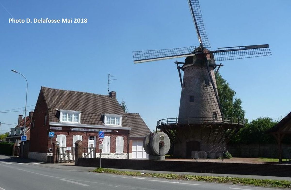Le Moulin d'Halluin et son Estaminet - Mai 2018.