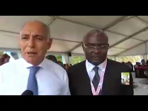 """Michel Innocent PEYA vend """"la vision verte de Denis Sassou Nguessou à ALES"""