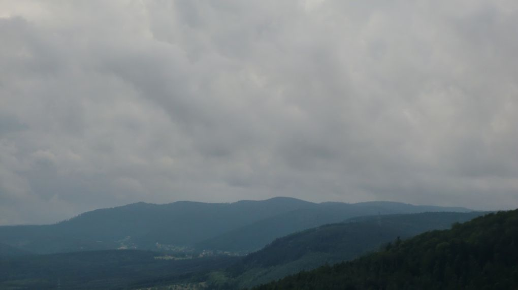 Rocher du Brotsch. Vues remarquables vers le Schneeberg.