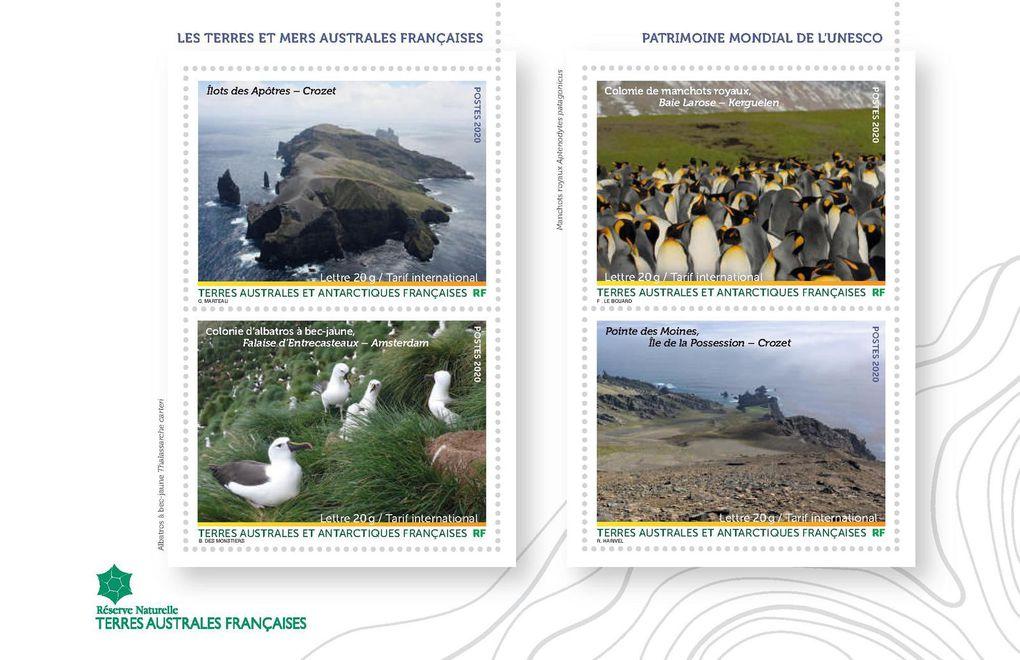 TAAF : un carnet de prestige en l'honneur du classement de la Réserve Naturelle au Patrimoine mondial de l'Unesco