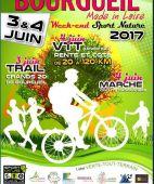'La Pente et Cote' VTT et 'Les Grands 20 de Bourgueil' le TRAIL, BOURGUEIL (Sortie VTT du 4/6/2017 / Ref. : 46121)