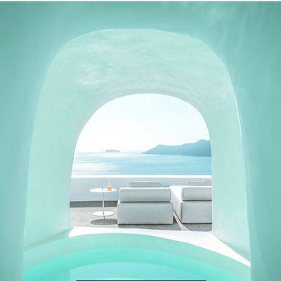 Magnifique hôtel à Santorin