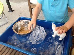 6 activités autour du glaçon pour les jours de fortes chaleurs / canicule