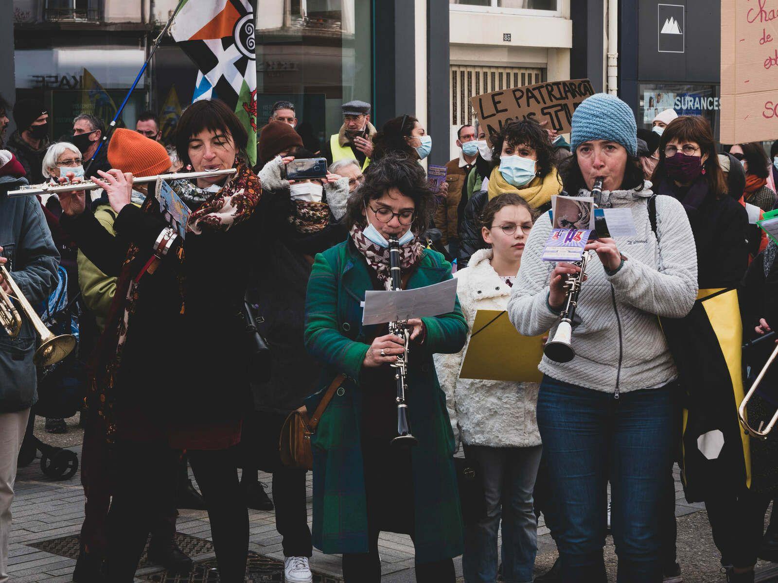 7 mars - Mobilisation pour les droits des femmes à Brest