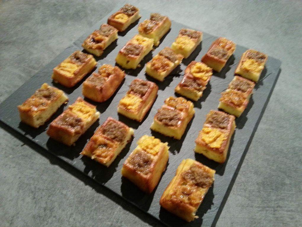 Gaufres de pommes de terre version apéritif