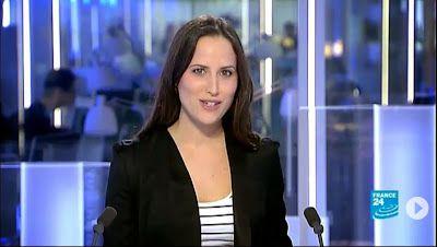 2013 05 30 - JESSICA LE MASURIER - FRANCE 24 EN - THE NEWS @17H00
