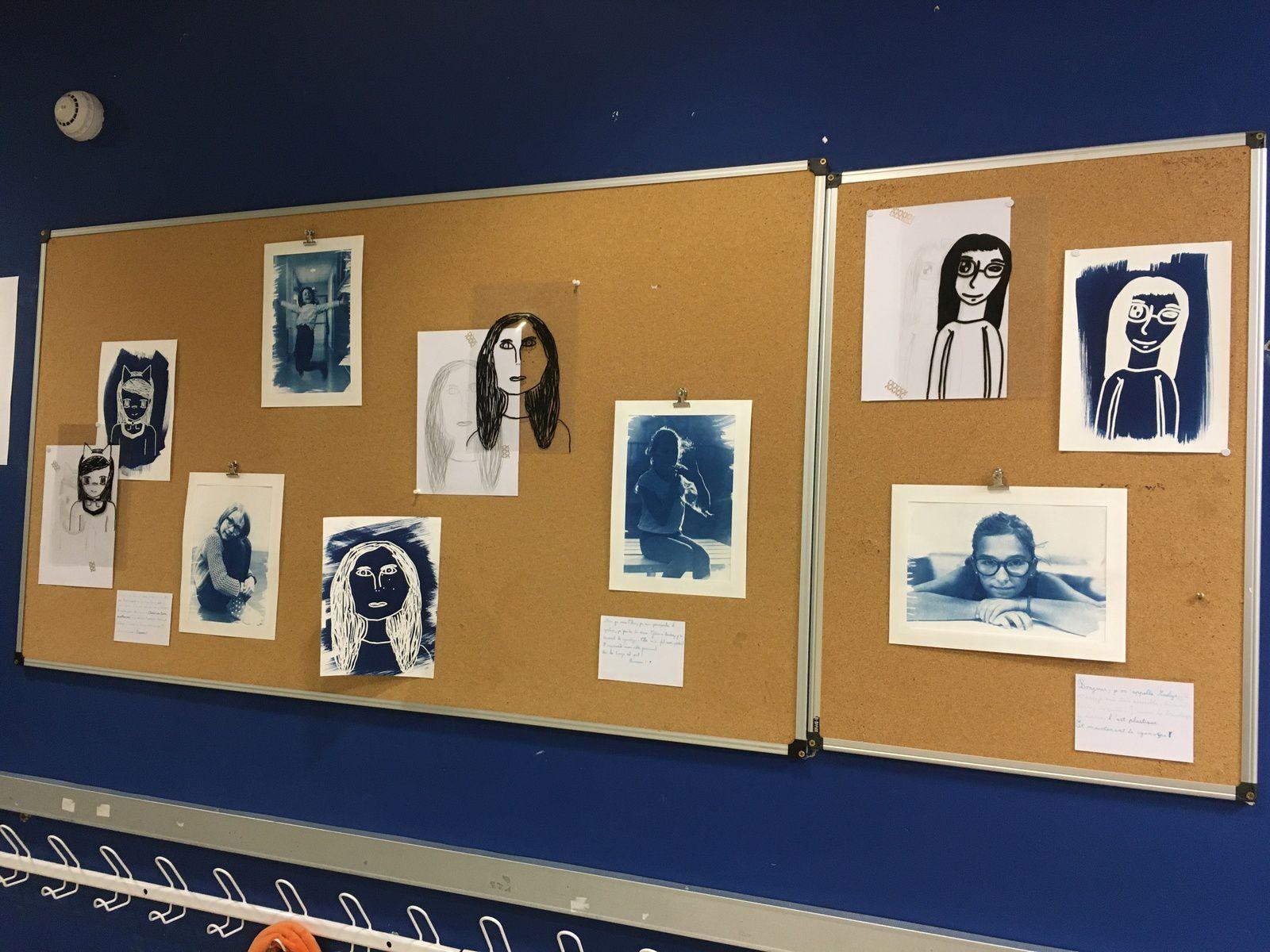 Exposition cyanotype au Francas Gaillac