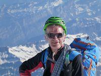 Entre le Grand plateau et Vallot - Mont Blanc deuis les Grands Mulets