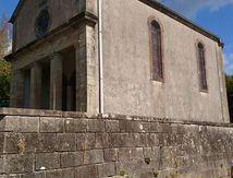 Réfection du toit de la sacristie de la chapelle Notre Dame du Bois Banny
