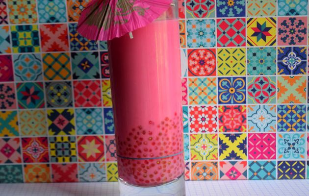 Bubble Tea à la Fraise