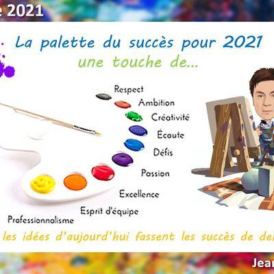 10 bonnes nouvelles en 2020 ! Bonne année 2021 !