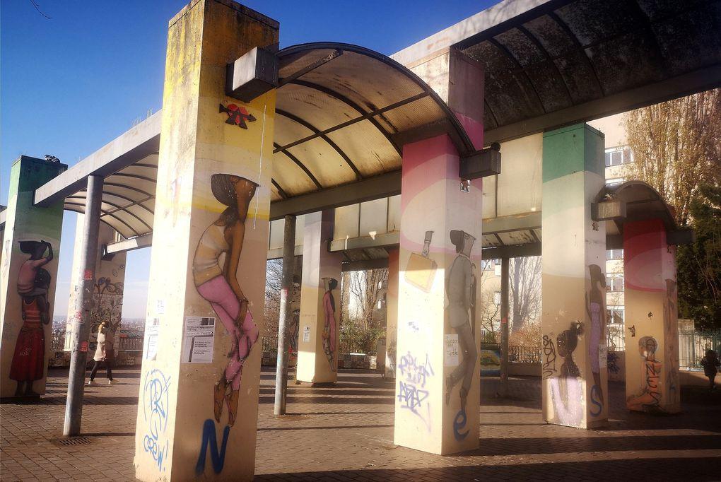 Balade street art dans le 20eme (Paris)