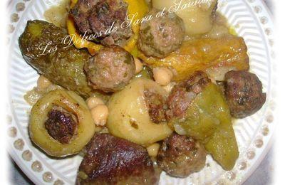 Dolma algérienne (Légumes farcies)