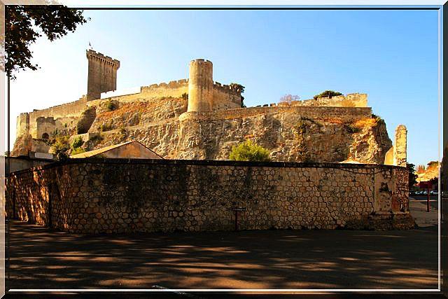 La forteresse semble neuve... comme au premier jour