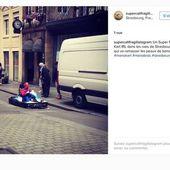 Une vraie course de Mario Kart en plein Strasbourg!