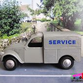 CITROEN 2CV FOURGONNETTE SERVICE JRD 1/43 - car-collector.net