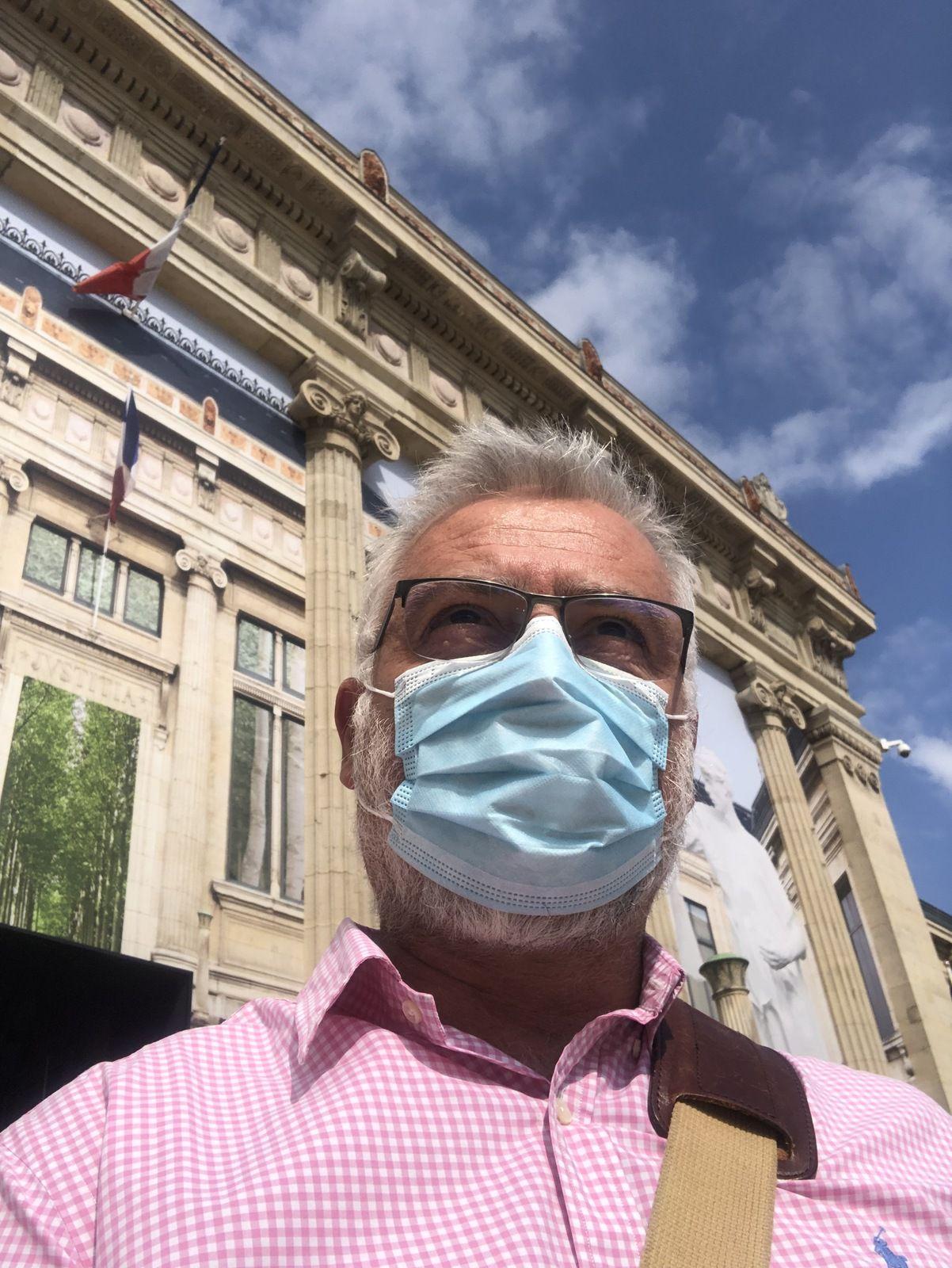 Me MORIN en audience au tribunal correctionnel du Havre 30 Août 2021