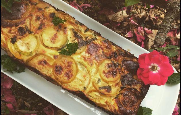Gâteau de courgettes & menthe