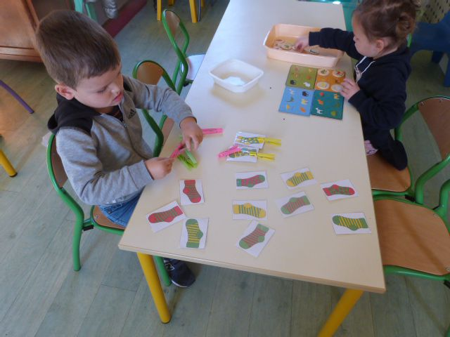 Ateliers de manipulationet d'apprentissage en PS