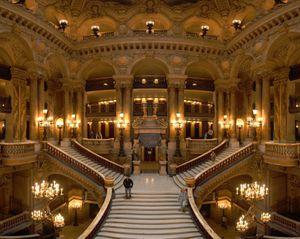 """Visite à l'opéra, le Palais Garnier avec """"femme dans la cité"""""""