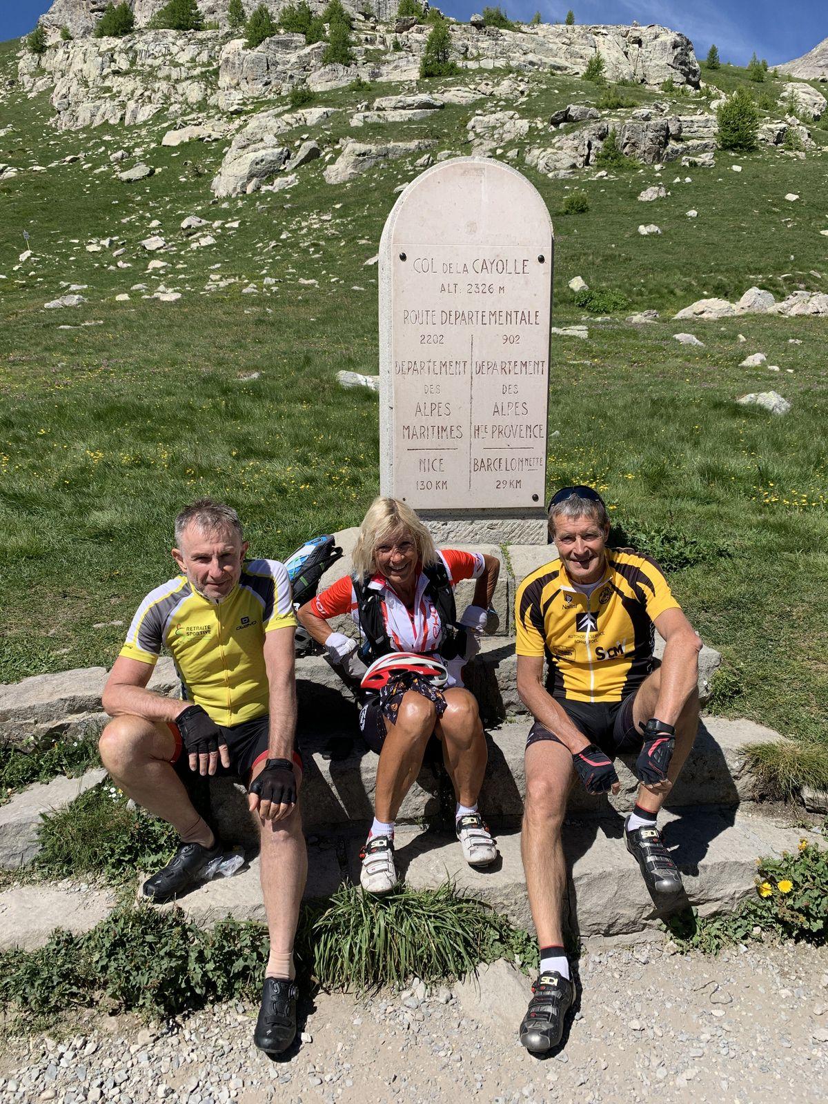Séjour Barcelonnette-Col de Pontis-vendredi 2 juillet 2021 et Cayolle améliorée